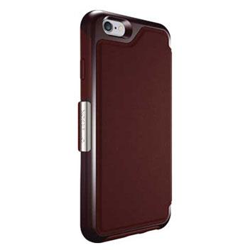 OtterBox Strada Series iPhone 6S Plus / 6 Plus Leather Case - Maroon
