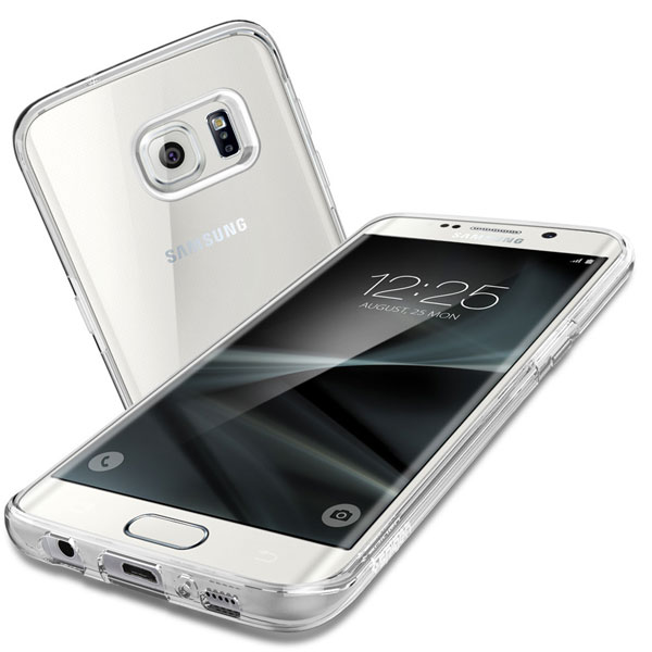 hot sale online ac426 152b5 Spigen Liquid Crystal Samsung Galaxy S7 Edge Case - Clear