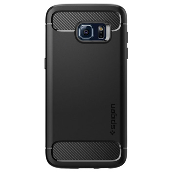Spigen Rugged Armor Samsung Galaxy S7 Edge Tough Case - Black