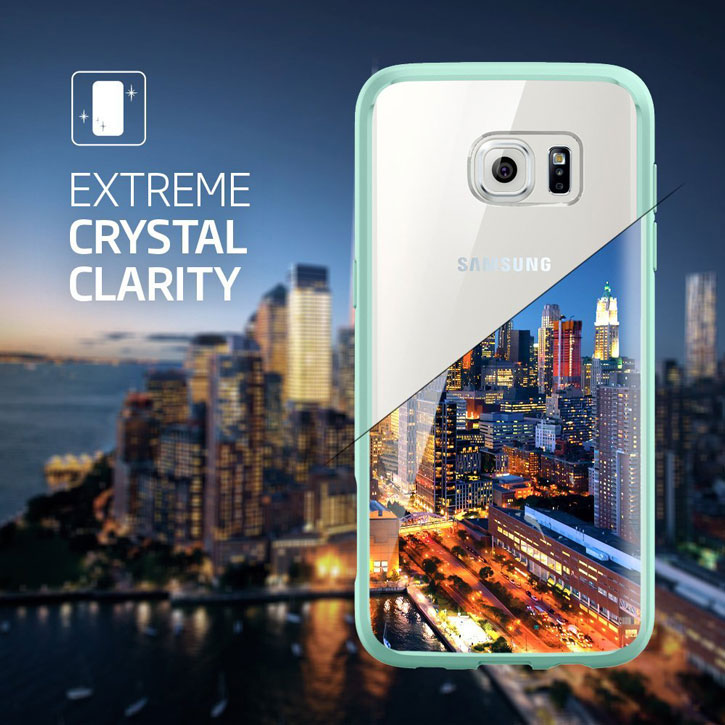 Spigen Ultra Hybrid Samsung Galaxy S7 Edge Case - Mint
