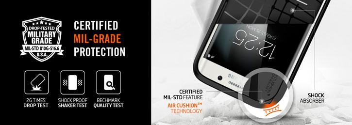 Spigen Slim Armor Samsung Galaxy S7 Edge Case - Armour Violet