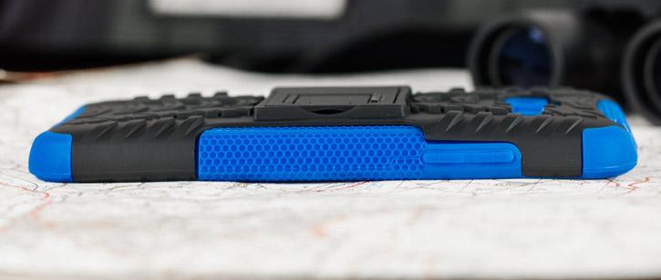 ArmourDillo Samsung Galaxy J3 2016 Protective Case - Blue / Black