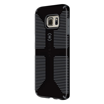 Speck CandyShell Grip Samsung Galaxy S6 Edge Plus Case - Black / Grey