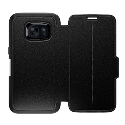 OtterBox Strada Series Samsungs Galaxy S7 Leather Case - Black