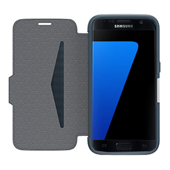 OtterBox Strada Series Samsungs Galaxy S7 Leather Case - Blue