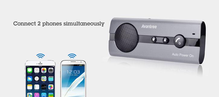 Avantree 10BP Bluetooth Hands-Free Visor Car Kit