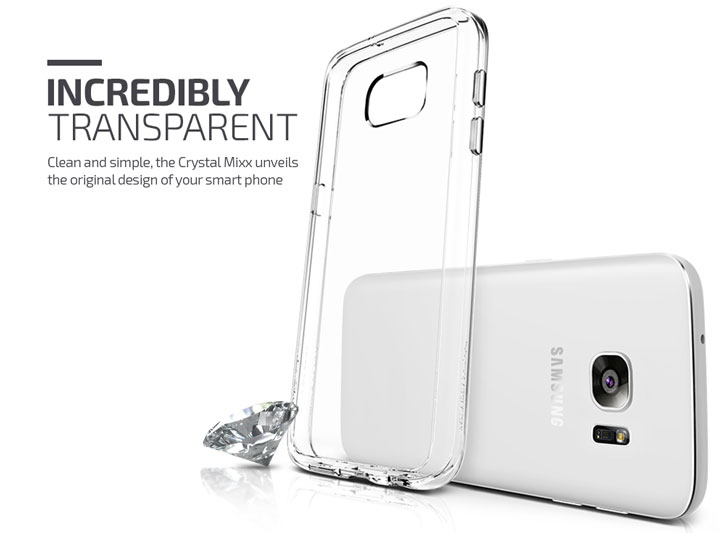 VRS Design Crystal Mixx Samsung Galaxy S7 Case - Crystal Clear