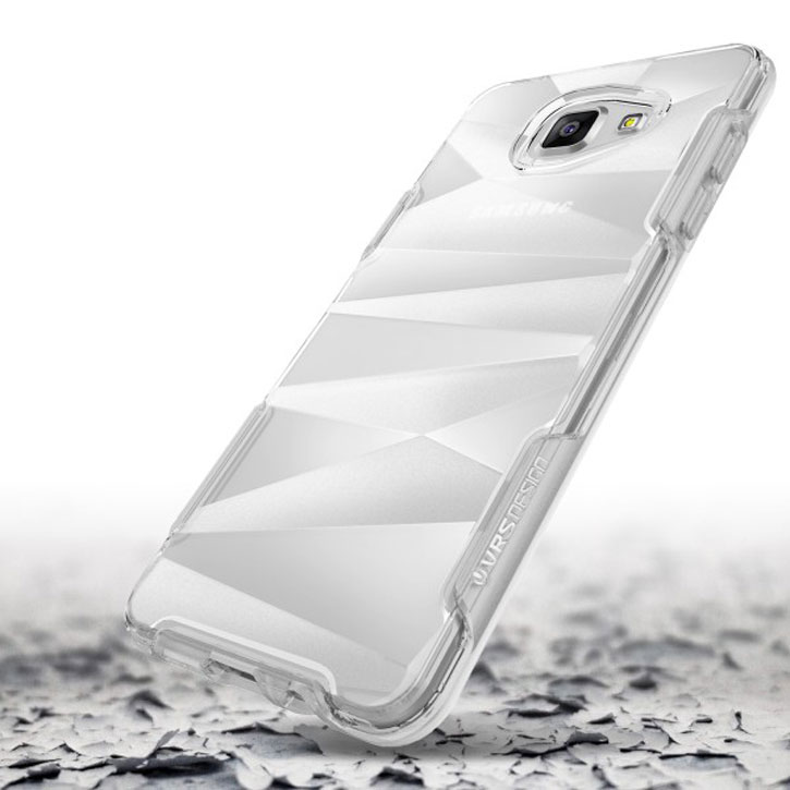 VRS Design Shine Guard Samsung Galaxy A7 2016 Case - Crystal Clear
