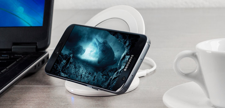 Fast Charging Stand White for Samsung