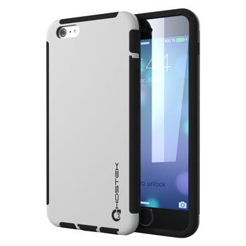 Ghostek Blitz iPhone 6S / 6 Rubberised Case - White