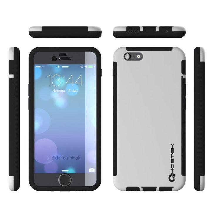 Ghostek Blitz iPhone 6S / 6 Rubberised Case - White