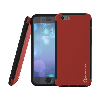 Ghostek Blitz iPhone 6S / 6 Rubberised Case - Red