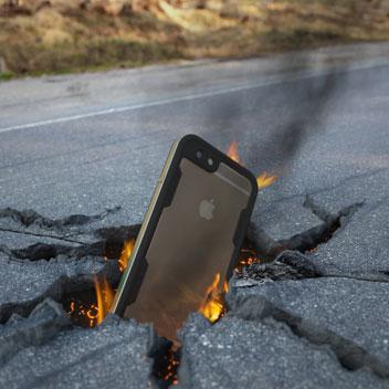 Ghostek Atomic 2.0 iPhone 6S / 6 Waterproof Tough Case - Gold