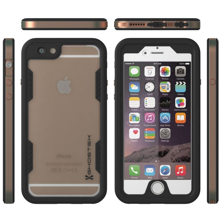Ghostek Atomic 2.0 iPhone 6S / 6 Waterproof Tough Case - Gold
