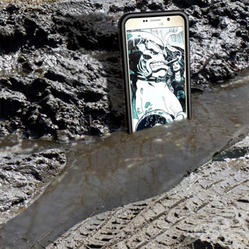 Ghostek Atomic 2.0 Samsung Galaxy Note 5 Waterproof Tough Case - Black