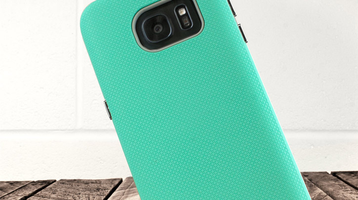 Olixar Rugged Samsung Galaxy S7 Case - Mint / Grey