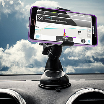 Olixar DriveTime Samsung Galaxy A7 2016 Car Holder & Charger Pack