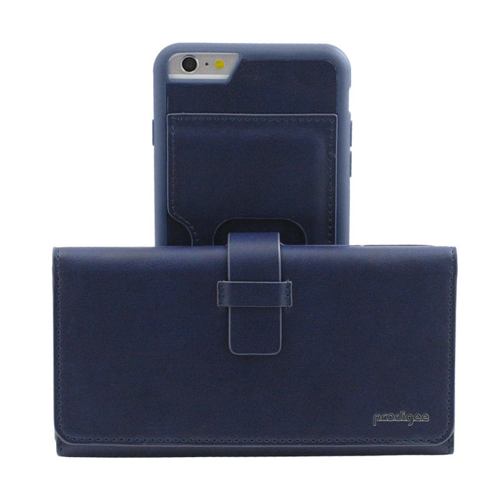 Prodigee Legacee iPhone 6S Plus / 6 Plus Eco-Leather Wallet Case - Royal Blue
