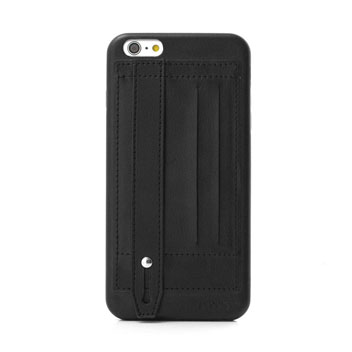 Prodigee Handee iPhone 6S Plus / 6 Plus Eco-Leather Card Case - Black