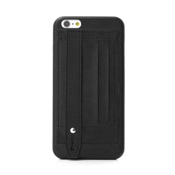 Prodigee Handee iPhone 6S Plus / 6 Plus Eco-Leather Card Case - Black
