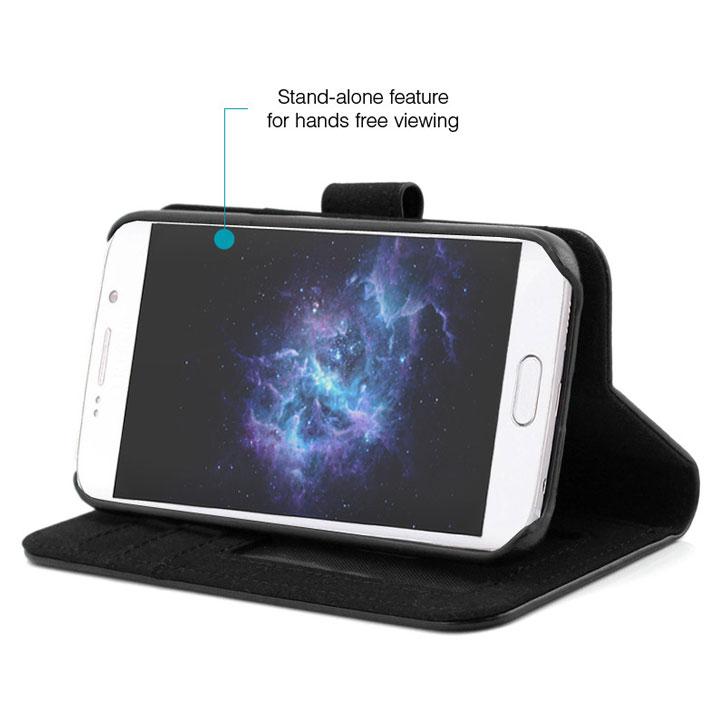 Prodigee Wallegee Samsung Galaxy S7 Wallet Case - Black