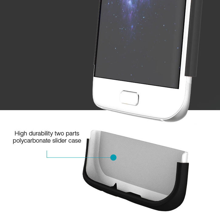 Prodigee Accent Samsung Galaxy S7 Edge Case - Black
