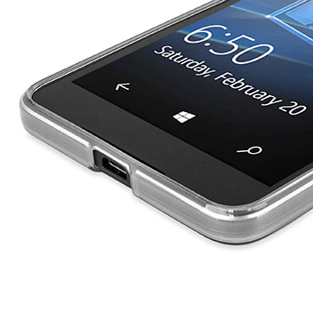 FlexiShield Microsoft Lumia 650 Gel Case - Clear