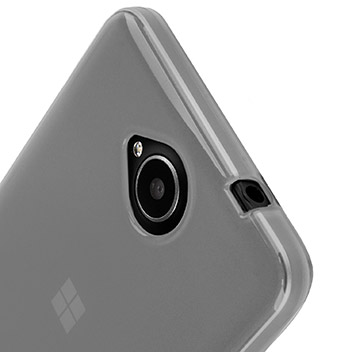 FlexiShield Microsoft Lumia 650 Gel Case - Frost White