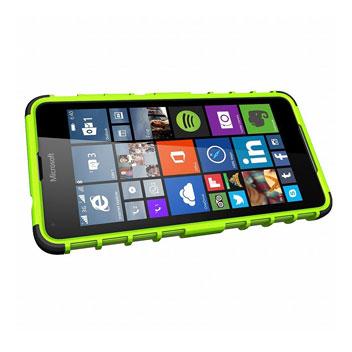 ArmourDillo Microsoft Lumia 650 Protective Case - Green