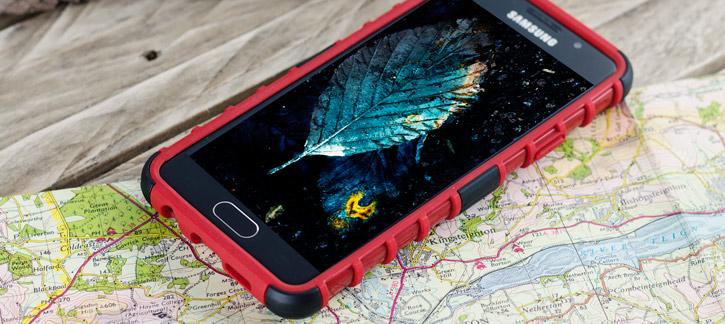 ArmourDillo Samsung Galaxy A3 2016 Case - Red