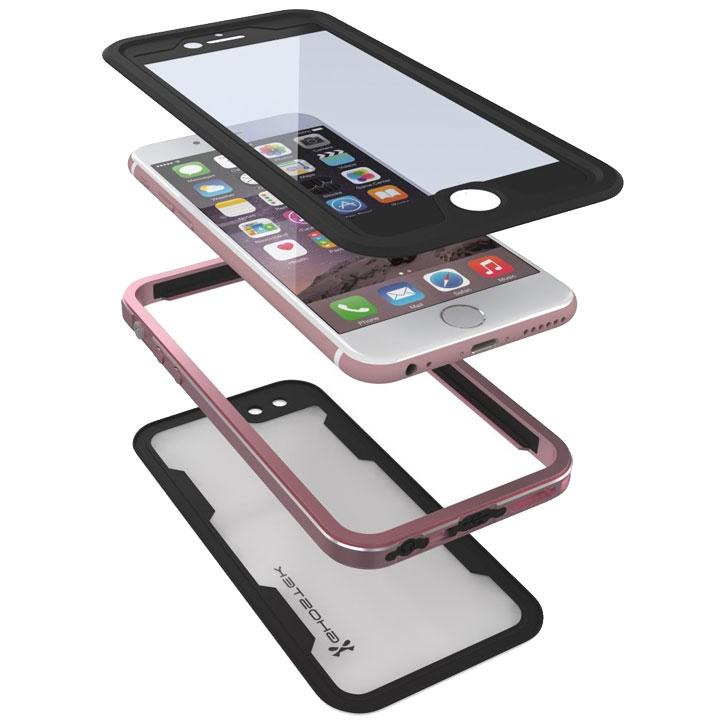 Ghostek Atomic 2.0 iPhone 6S / 6 Waterproof Tough Case - Rose Gold