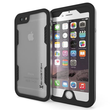 Ghostek Atomic 2.0 iPhone 6S Plus / 6 Plus Waterproof Tough Case - Silver