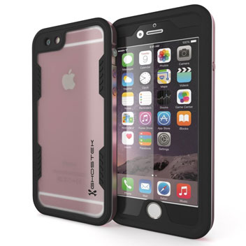 Ghostek Atomic 2.0 iPhone 6S Plus / 6 Plus Waterproof Tough Case - Rose Gold
