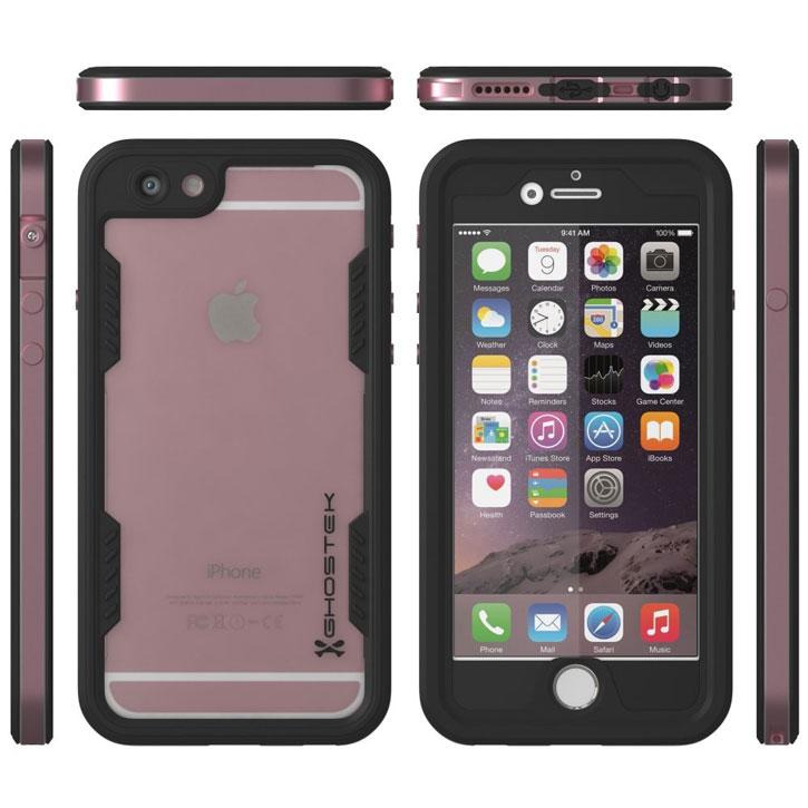 best loved f9303 4a374 Ghostek Atomic 2.0 iPhone 6S Plus / 6 Plus Waterproof Case - Rose