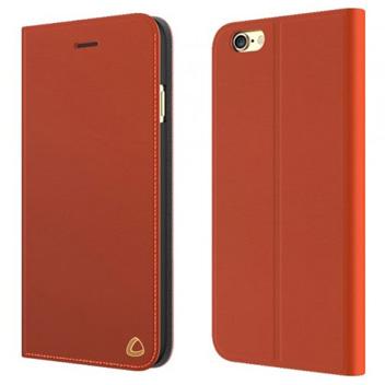 Olixar Genuine Leather iPhone 6 Wallet Case - Brown