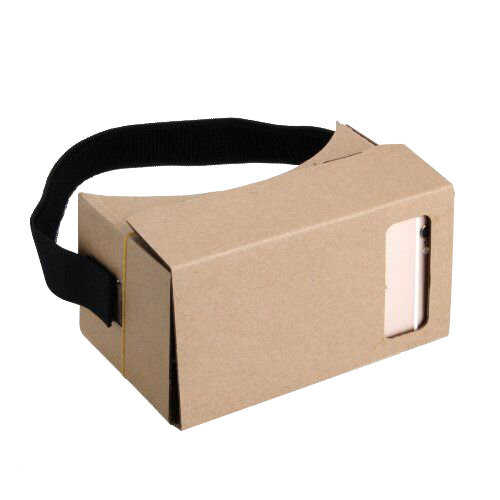 I AM Cardboard VR Cardboard Headset Kit V1
