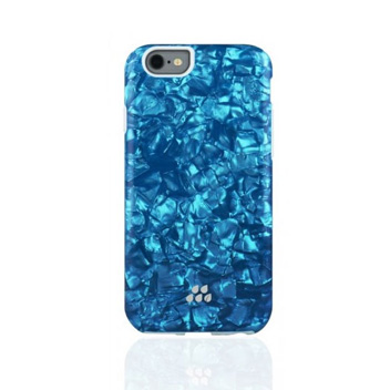 Evutec Apple iPhone 6S / 6 Kaleidoscope Pattern SC Series Case - Blue