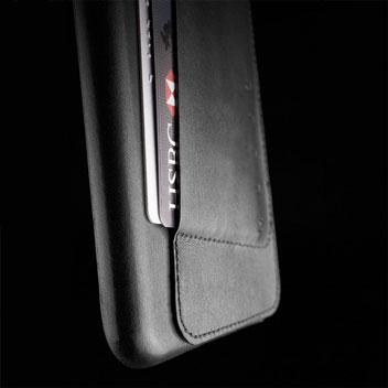 Mujjo Leather Wallet Case 80° iPhone 6S Plus / 6 Plus Case - Black
