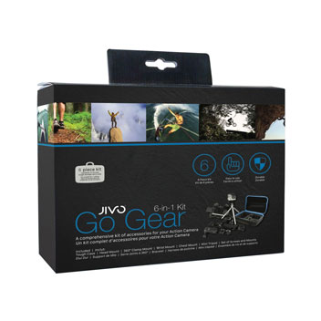 Jivo Go Gear 6-in-1 GoPro Adventure Kit