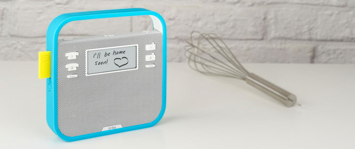 Triby Smart Portable Bluetooth Speaker - Grey