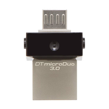 Kingston DataTraveler microDuo 3.0 Micro USB & USB Memory Stick - 16GB