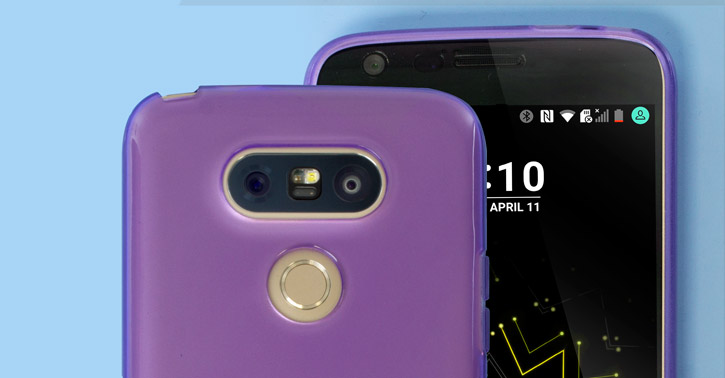 FlexiShield LG G5 Gel Case - Purple