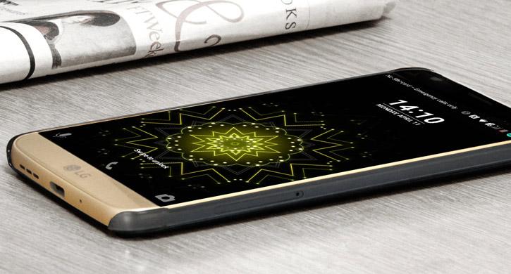 Official LG G5 Crystal Guard Case - Titan Black