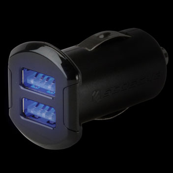 Scosche reVOLT Dual USB 4.8A Car Charger - Black