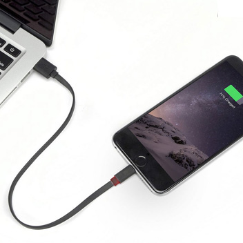 Deff Lightning & Micro USB Tangle-free Cable With LED
