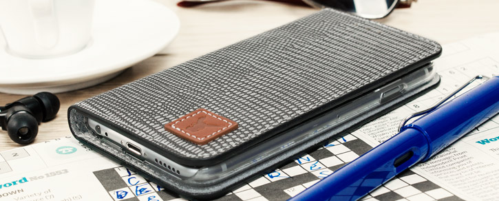 Moncabas Liza Genuine Leather iPhone 6S / 6 Wallet Case - Grey