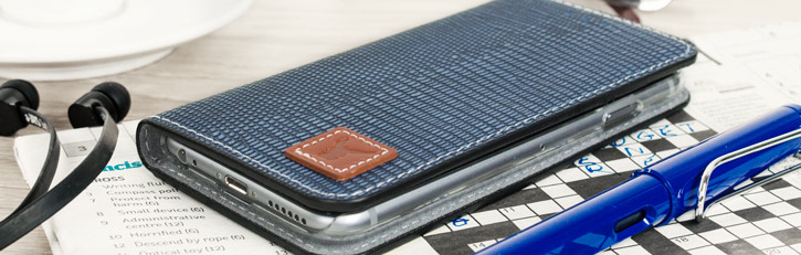 Moncabas Liza Flip Diary Case - Apple iPhone 6/6S - Navy