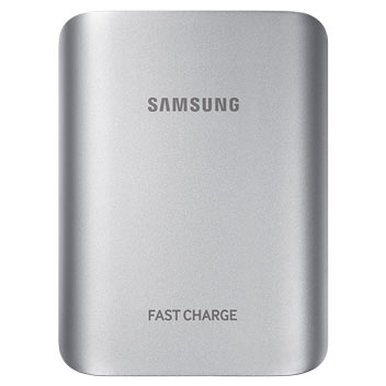 Samsung Portable 10,200mAh Fast Charge Battery Pack - Silver