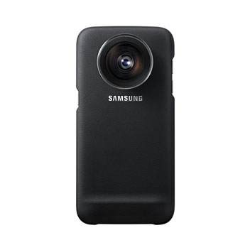 Official Samsung Galaxy S7 Edge Lens Cover - Black