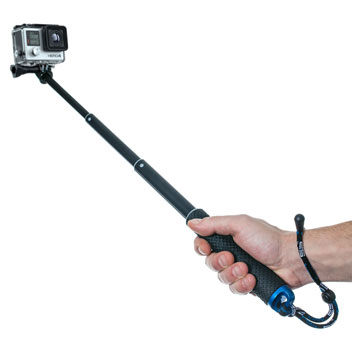 GoPole POV Extendable 11.25 to 36 Inch GoPro Pole - Black